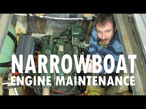 Narrowboat Engine Maintenance - Episode 17