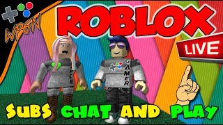 Subs Play 🔥 ROBLOX LIVE SHOUTOUTS ⭐Join our Game and join the WPGN FAMILY (2-20-18)