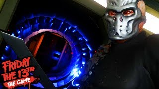 HUNTED BY JASON X! || Friday The 13th The Game Virtual Cabin 2.0 (UBER JASON REVEALED)