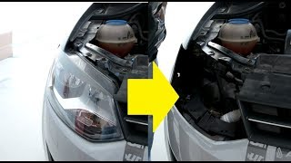 Headlight removal vw polo 6r 2011