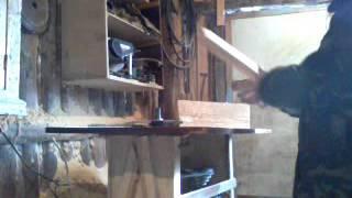 Филенчатая дверь часть4 запилка шипов и калевка(Это видео загружено с телефона Android., 2016-02-14T10:57:33.000Z)