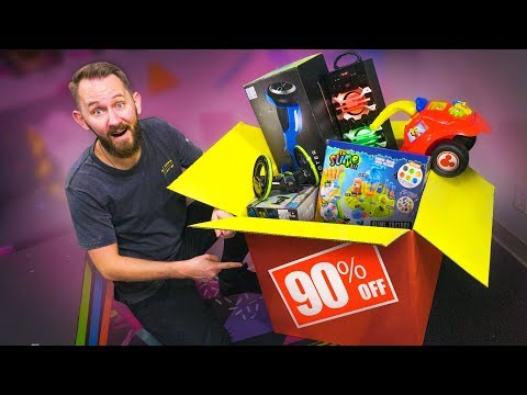I Spent $600 At A Sketchy Discount Store!