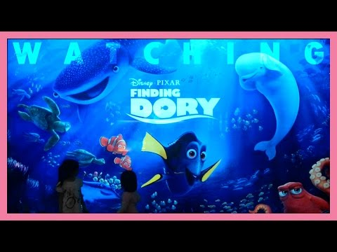 Watching Finding Dory premiere at Cinema XXI, Summarecon Mall Serpong, Indonesia | Toy Joy Channel