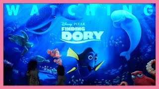 Watching Finding Dory premiere at Cinema XXI, Summarecon Mall Serpong, Indonesia I Toy Joy Channel