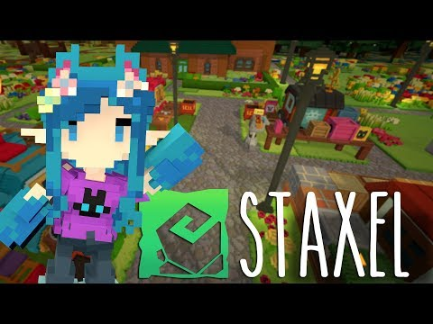THE MUSEUM GAVE US WHAAAT!! - Staxel SMP Stream #3