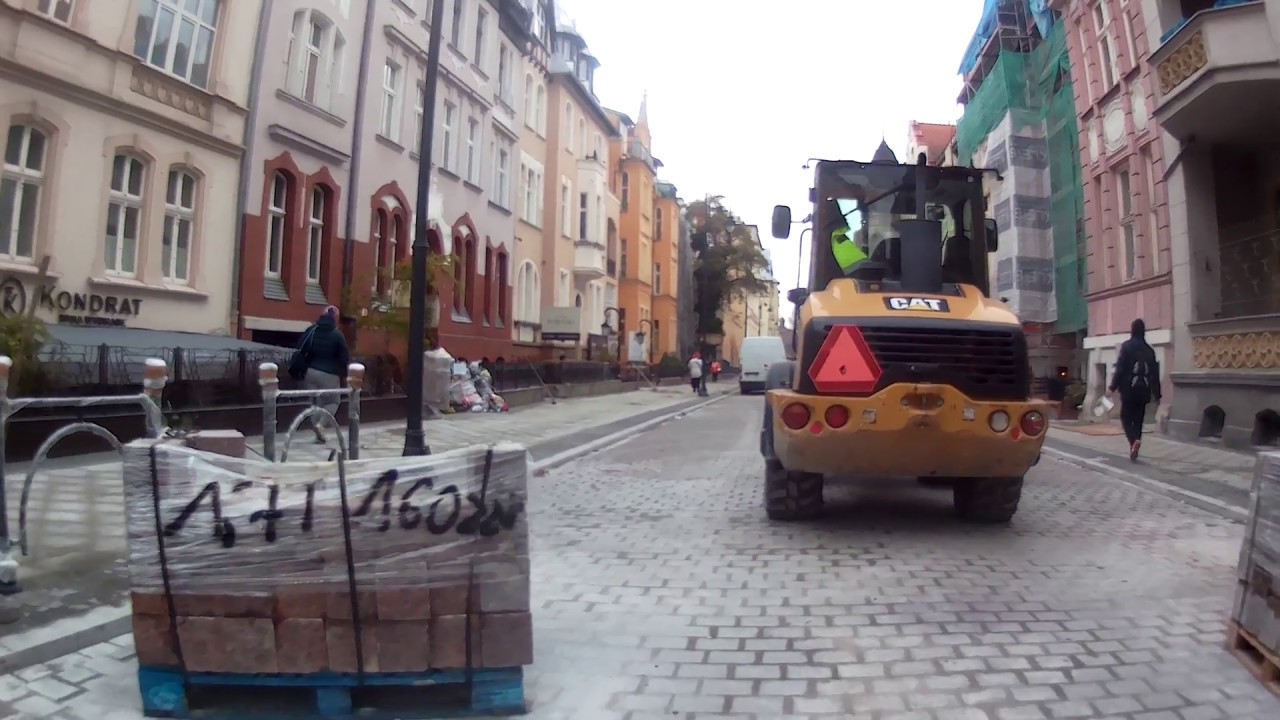 Ulica Augusta Cieszkowskiego w Bydgoszczy 4K