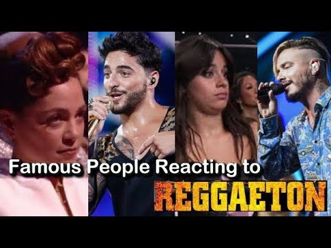 Famous People Reacting to Reggaeton!