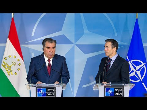 NATO Secretary General with President of Tajikistan - Joint Press Conference
