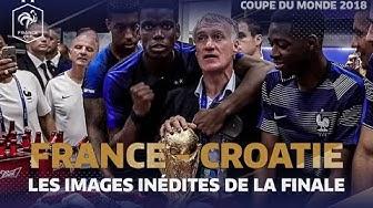Les images inédites de la finale du Mondial 2018, Equipe de France I FFF 2018