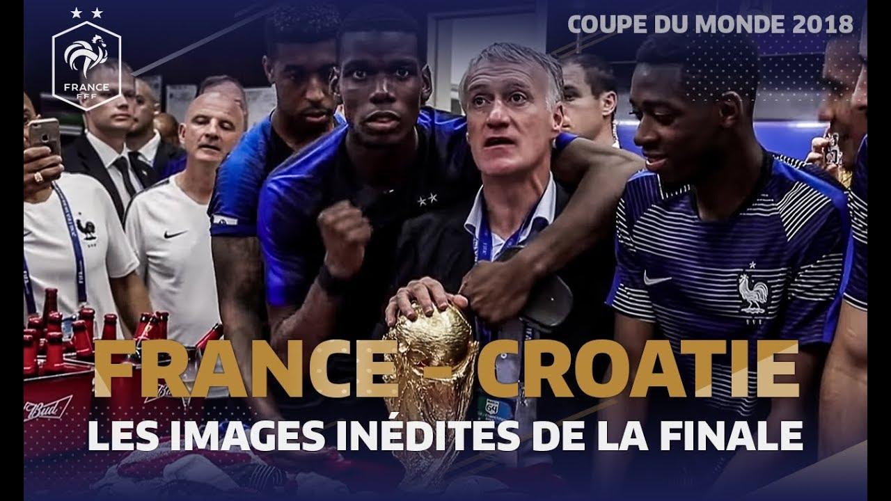 Download Les images inédites de la finale du Mondial 2018, Equipe de France I FFF 2018