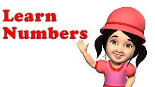 Learning Numbers for Kids Toddlers | 123 Numbers Songs for Children & more wheels on the bus
