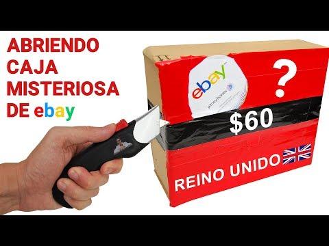 Abriendo Caja Misteriosa de Ebay de REINO UNIDO de $60 📦❓ | Caja Sorpresa