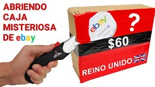 Abriendo Caja Misteriosa de Ebay de REINO UNIDO de $60 📦❓   Caja Sorpresa