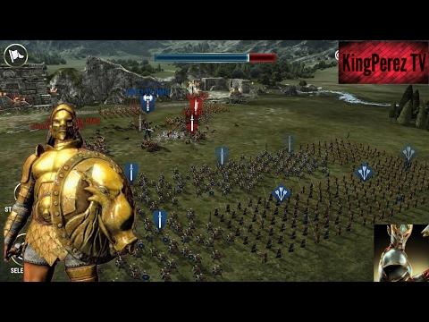 Dawn Of Titans Presento Mi Titan Y Ataco Castillos Fuertes