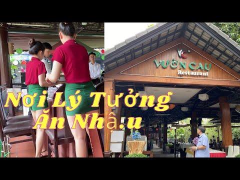 Nhà Hàng Vườn Cau Phan Văn Trị Bình Thạnh HCM   SauSoc TV