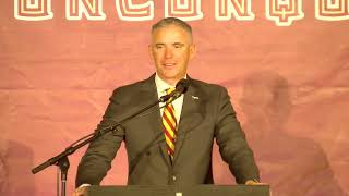 FSU introductory press conference for Mike Norvell
