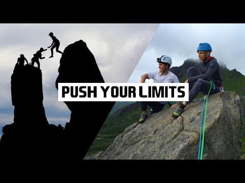"PUSH YOUR LIMITS • Climbing & JUMPING ""The Horns"" - Svolværgeita"