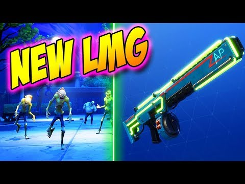 Fortnite Zombies | Save The World Ep 19: FREE LAMAS & NEW LMG!  (Fortnite PVE Campaign)