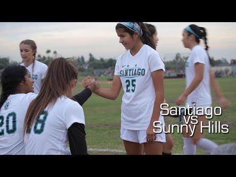 Santiago High School Girls JV Soccer   Santiago vs Sunny Hills