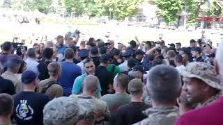 Митинг перед Херсонской ОГА. 3