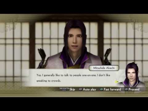 SW4: All Mitsuhide Akechi Events (Chronicle Mode)
