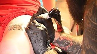 Международная тату конвенция в Минске, конкурс тату