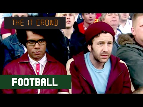 """/""""YOU/'RE /'AVIN A LAUGH/' the it crowd FOOTBALL parody phrase"""