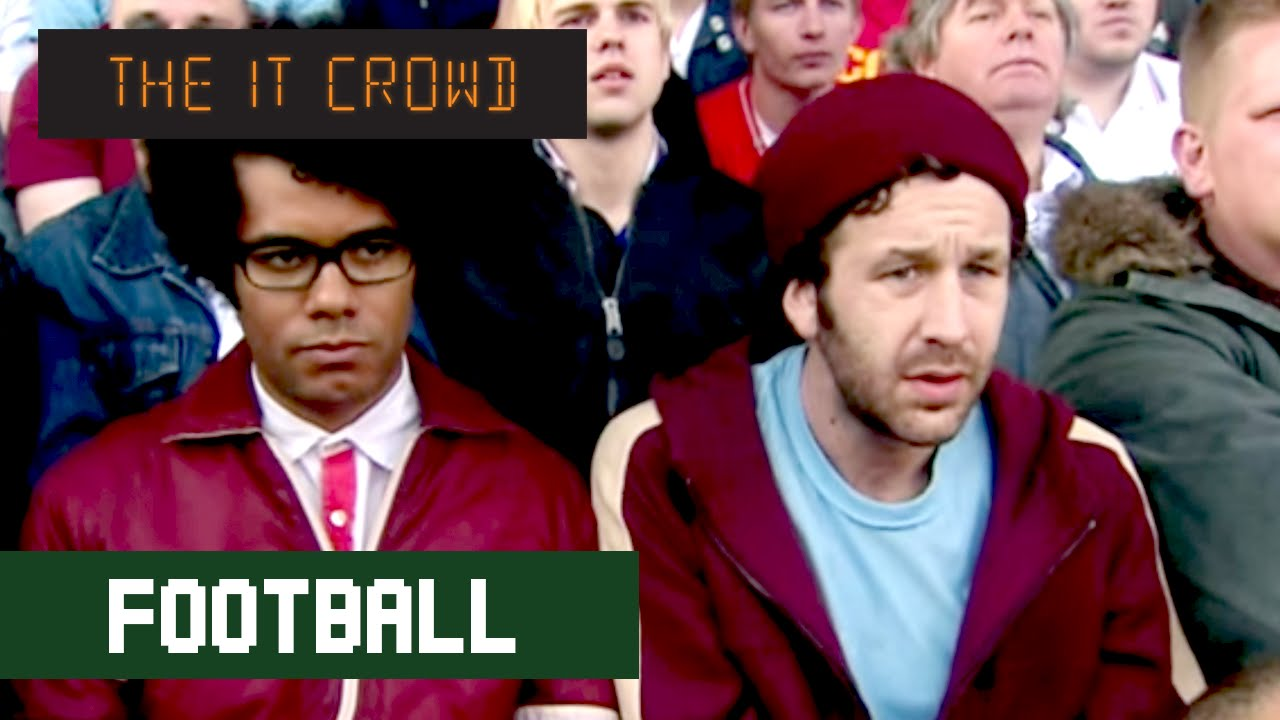 maxresdefault football match the it crowd series 3 episode 2 youtube