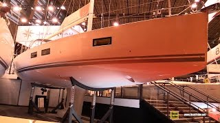 2017 Jeanneau Yacht 51 - Deck and Interior Walkaround - 2016 Salon Nautique Paris