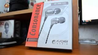 видео Fischer Audio Consonance v.2, купить внутриканальные наушники Fischer Audio Consonance v.2