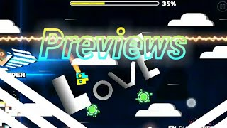 Previews for my levels