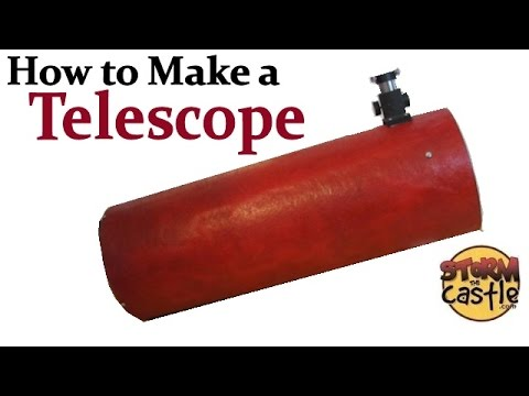 How to Make a Telescope - 8 Inch Newtonian Reflector (Part 1)