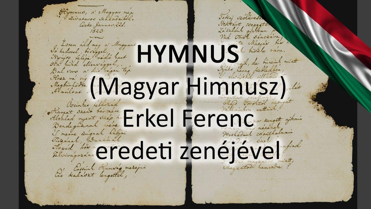 Eredeti Magyar Himnusz (Hymnus - a Magyar nép zivataros századaiból)