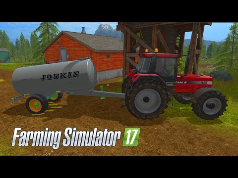 Farming Simulator 17 - E12 - Water Tank | Gameplay | Let's Play