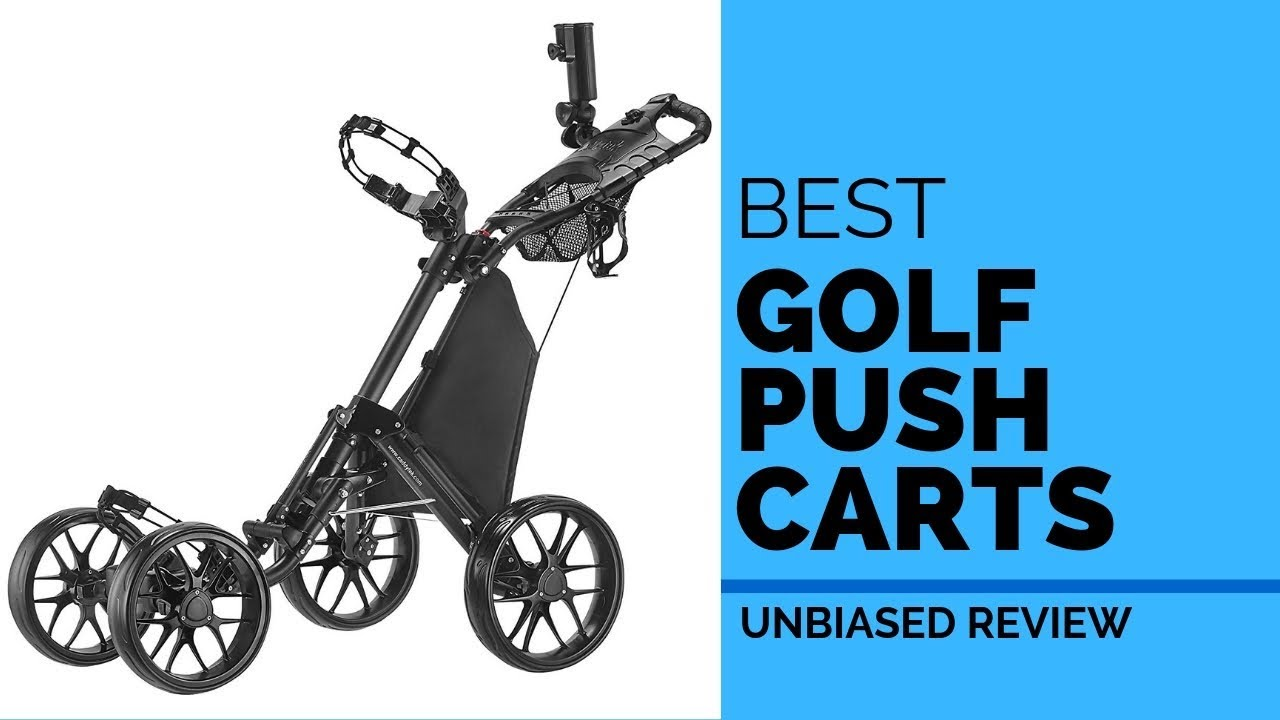 10 Best Golf Push Carts 2019 | Top 10 Unbiased Reviews of Gold Carts