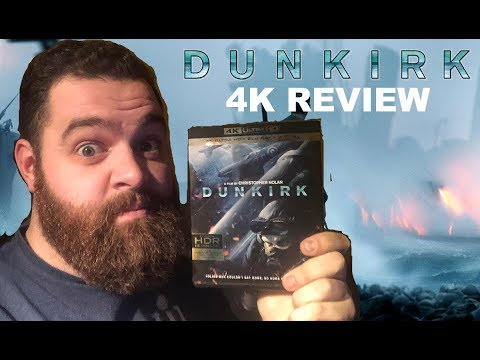 Dunkirk - 4K Ultra HD Blu-ray Review and Unboxing