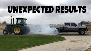 How much DUCT TAPE does it take to hold a Tractor and a 700HP Truck together?