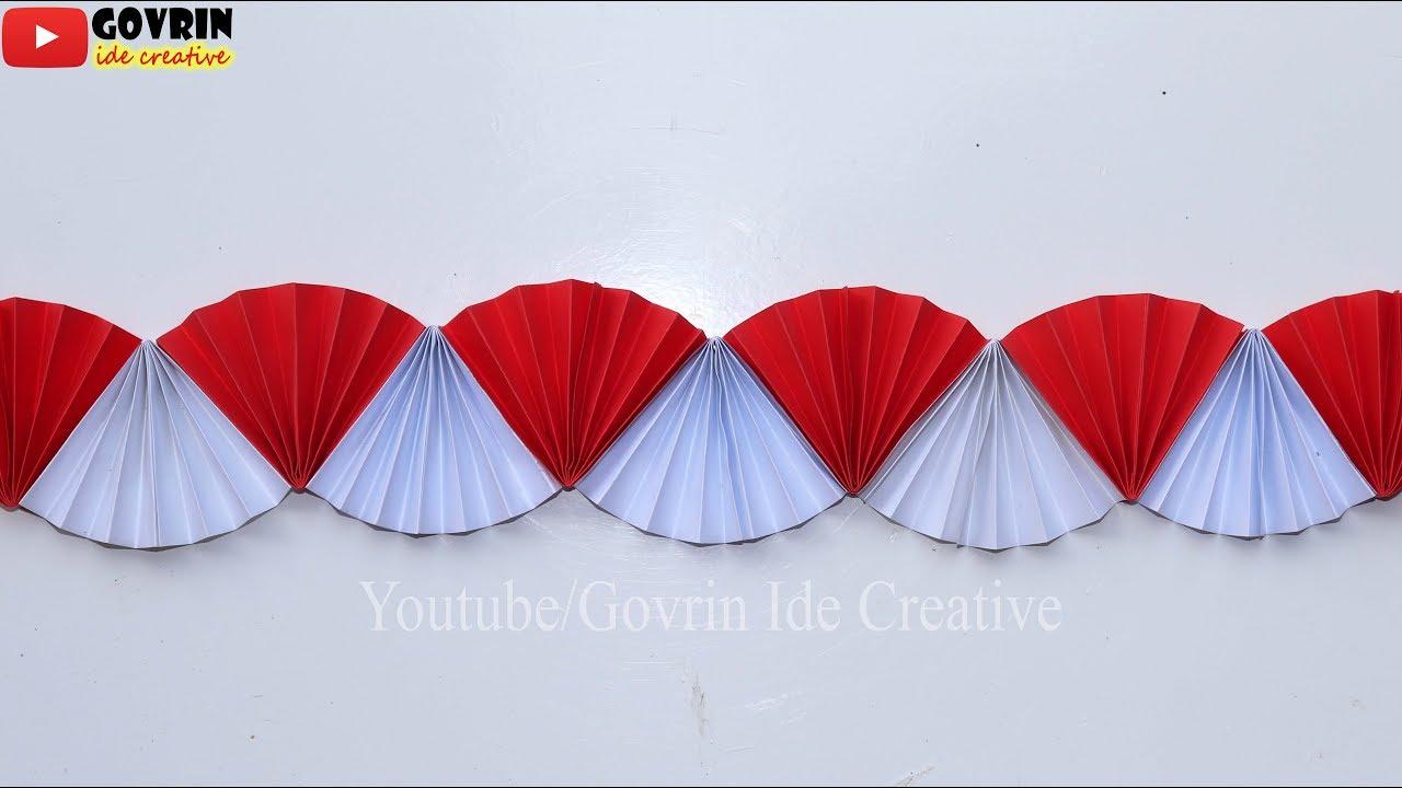 Door Decoration Ideas | Kreatif Cara Menghias Kelas/Jendela Merah ...