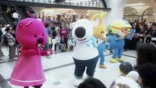 [원더키즈TV] 뽀로로와 크롱, 에디, 루피, 페티가 신세계백화점에서 함께 노래하고 춤추고^^