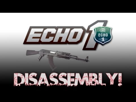 Echo 1 AK-Style Airsoft Rifle Disassembly