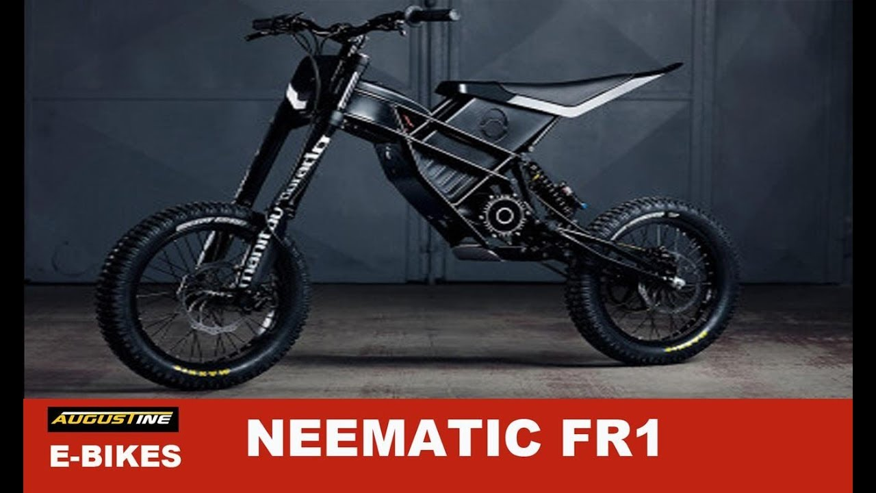 hot ebikes the very cool 60 mph neematic fr1 youtube. Black Bedroom Furniture Sets. Home Design Ideas