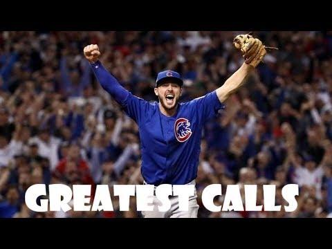 MLB Goosebump Calls ᴴᴰ *SOUND UP*