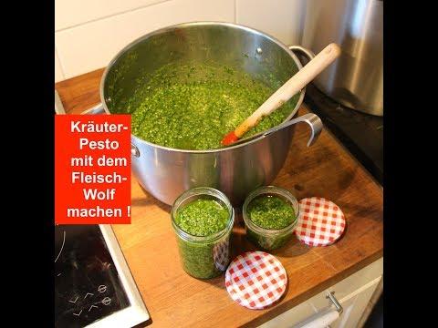 Kräuter-Pesto mit dem