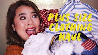 PLUS SIZE CLOTHING HAUL AND TRY ON (SUPER TRENDY!) | HelenOnFleek