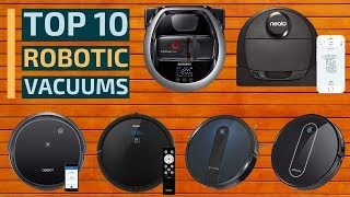 Top 10: Best Smart Robotic Vacuums Of 2019 / Best Robot Vacuum Cleaner For Home, Office On Amazon
