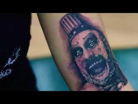 Tattooing Captain Spaulding