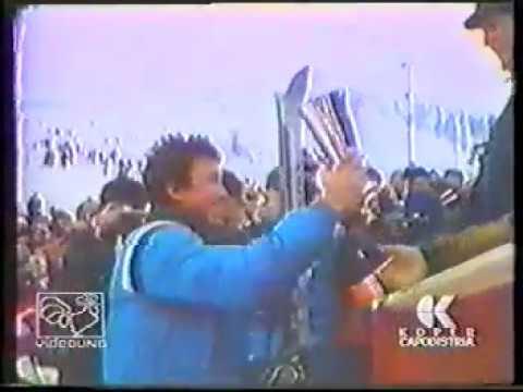 COPPA MONDO 1978 79 OSLO SLALOM LEONARDO DAVID