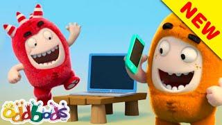 Oddbods Idolising Smart Gadgets | Cartoons for Children