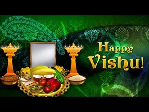 Happy Vishu Greetings, SMS, Wishes, Text Messages, Whatsapp video, Video E- Card