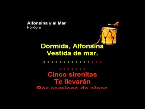 Folklore   Alfonsina y El Mar   Karaoke